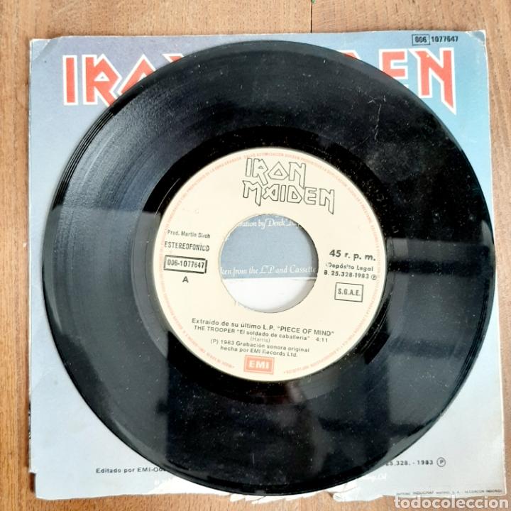 Discos de vinilo: Iron Maiden / The Trooper / Single 1983 - Foto 3 - 194557466