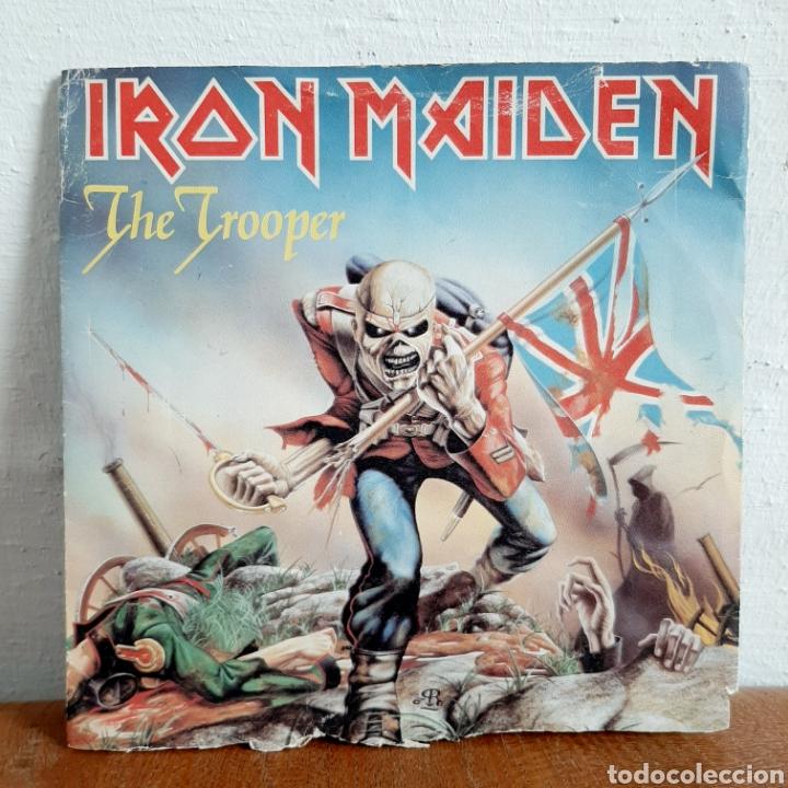 IRON MAIDEN / THE TROOPER / SINGLE 1983 (Música - Discos - Singles Vinilo - Heavy - Metal)