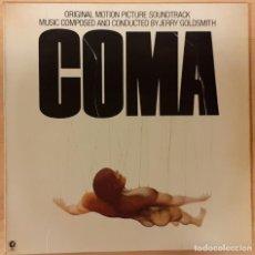 Discos de vinilo: COMA JERRY GOLDSMITH. Lote 194560743