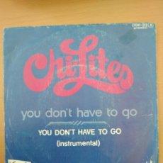 Discos de vinilo: SINGLE THE CHI-LITES, EDIT ZAFIRO 1976. Lote 194560882