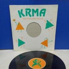 Discos de vinil: MAXI SINGLE DISCO VINILO KRMA THE PYRAMID SOUND. Lote 194560892