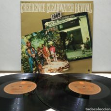 Discos de vinilo: CREEDENCE CLEARWATER REVIVAL - GREEN RIVER / WILLY AND THE POORBOYS 1978 ED FRANCESA GATEFOLD. Lote 194560978