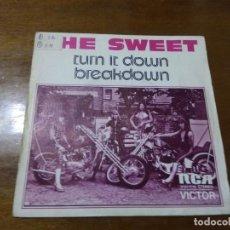 Discos de vinilo: THE SWEET – / DEJALO / ROMPE / ESPAÑA 1975- ROCK GLAM. Lote 194561273