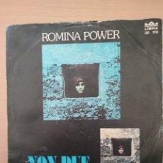 Discos de vinilo: SINGLE ROMINA POWER, NON DUE, EDIT LIBRA 1976. Lote 194561380