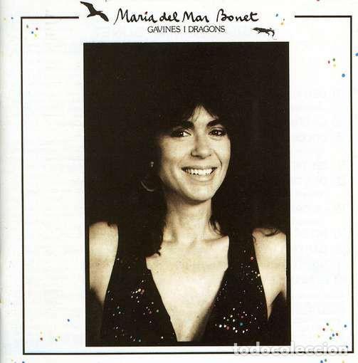 MARIA DEL MAR BONET– GAVINES I DRAGONS - LP SPAIN 1987 (Música - Discos - LP Vinilo - Solistas Españoles de los 70 a la actualidad)