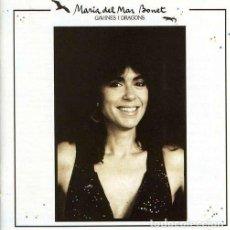 Discos de vinilo: MARIA DEL MAR BONET– GAVINES I DRAGONS - LP SPAIN 1987. Lote 194561461
