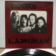 Discos de vinilo: THE DOORS - L.A. WOMAN 1971 ED ALEMANA. Lote 194561946