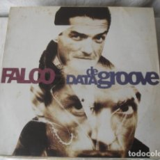 Discos de vinilo: FALCO DATA DE GROOVE. Lote 194565536