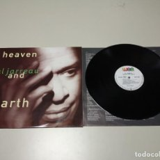 Discos de vinilo: 0220- HEAVEN AL JARREAU AND EARTH EU 1992 LP VIN POR VG ++ DIS VG ++ . Lote 194567160