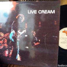 Discos de vinilo: LIVE CREAM ESPAÑA 1980. Lote 194569516