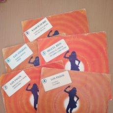 Discos de vinilo: COLECCIÓN DE 5 SINGLES MIRINDA.. Lote 194570026