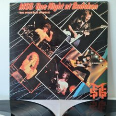 Discos de vinilo: MSG/ONE NIGHT AT BUDOKAN. SPAIN. 1982. LABEL CHRISALIS. CTY 1375.. Lote 194570381