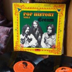 Discos de vinilo: CREAM POP HISTORY VOL1 ESPAÑA 1972. Lote 194570401