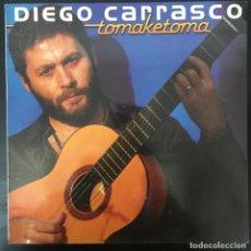 Discos de vinilo: DIEGO CARRASCO – TOMAKETOMA LP 1987 VINILO Y CARPETA COMO NUEVOS! NM NM. Lote 194570825