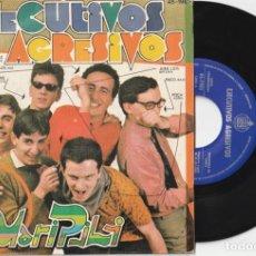 Discos de vinilo: EJECUTIVOS AGRESIVOS - MARI PILI (SINGLE HISPAVOX 1980 PROMOCIONAL). Lote 194571012