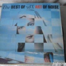 Discos de vinilo: THE ART OF NOISE THE BEST OF THE ART OF NOISE . Lote 194572515