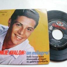 Discos de vinilo: FRANKIE AVALON-EP UN MILAGRO +3. Lote 194573163