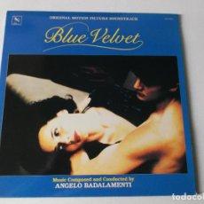 Discos de vinilo: BLUE VELVET, TERCIOPELO AZUL, 1986 EDICION AMERICANA. Lote 194573221
