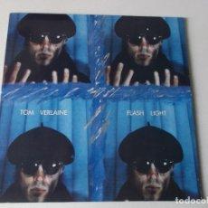 Discos de vinilo: TOM VERLAINE FLASH LIGHT 1987 ED FONTANA. Lote 194573698