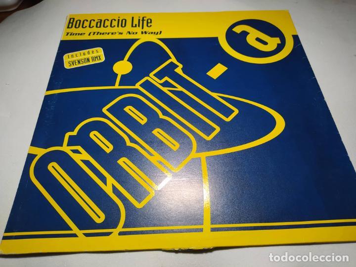 VINILO - MAXI - BOCCACCIO LIFE – TIME (THERE'S NO WAY) - NM 9042 MX (Música - Discos de Vinilo - Maxi Singles - Disco y Dance)