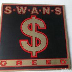 Discos de vinilo: S.W.A.N.S. GREED, KCC2 MIRAR FOTOS 1986. Lote 194574793