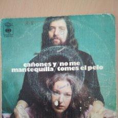 Discos de vinilo: SINGLE CAÑONES Y MANTEQUILLA EDIT CBS 1973. Lote 194576823