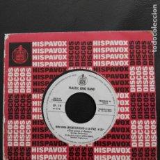 Discos de vinilo: SINGLE PROMOCIONAL PLASTIC ONO BAND JOHN LENNON HISPAVOX 1969-GIVE PEACE A CHANCE BEATLES . Lote 194577883