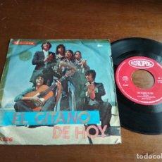 Discos de vinilo: EL GITANO DE HOY – CALO-CALI / DOLOR DE MADRE / ACROPOL 1974- ACID RUMBA-. Lote 194581063