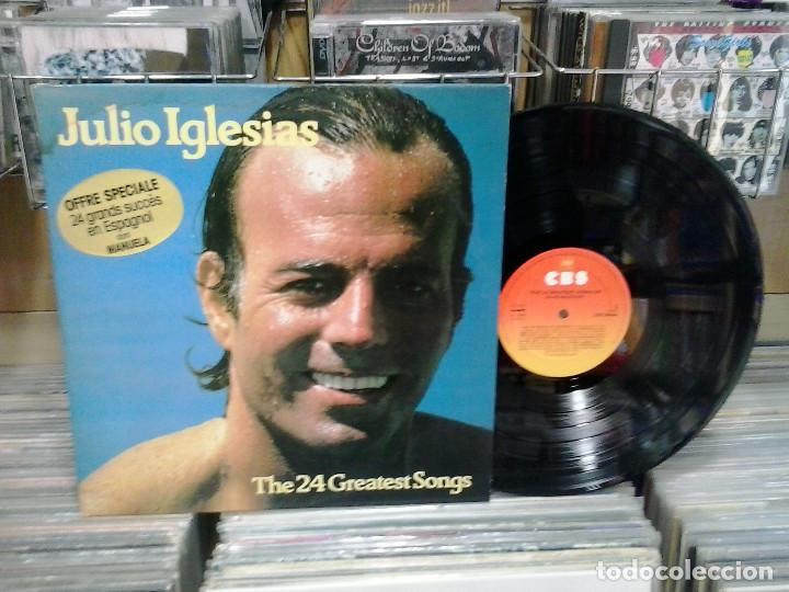 LMV - JULIO IGLESIAS. THE 24 GREATES SONGS. CBS 1978, REF. 88469 (Música - Discos - LP Vinilo - Solistas Españoles de los 70 a la actualidad)