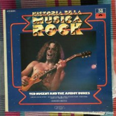 Discos de vinilo: TED NUGENT - HISTORIA DE LA MÚSICA ROCK 51 (1971) - LP POLYDOR SPAIN 1982 - SURVIVAL OF THE FITTEST. Lote 194581847