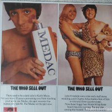 Discos de vinilo: THE WHO - THE WHO SELL OUT (VINILO) LP. Lote 194582026
