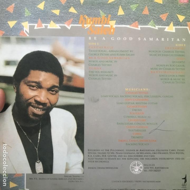 Discos de vinilo: Kumbi Saleh Be A Good Samaritan 1988 - Foto 2 - 194582185