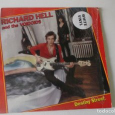 Discos de vinilo: RICHARD HELL AND THE VOIDOIDS* – DESTINY STREET 1982 VINILO BLANCO. Lote 194583206