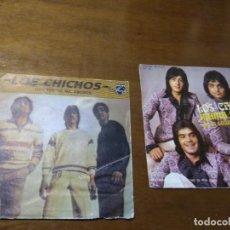 Discos de vinilo: LOTE-LOS CHICHOS-DOS SINGLES. Lote 194584412