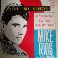 Discos de vinilo: MIKE RÍOS. EP. SELLO PHILIPS. EDITADO EN ESPAÑA. AÑO 1964. Lote 194586377