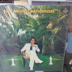 Discos de vinilo: LOTE DE 3 DISCOS LPS JOSÉ VELEZ - ROMANTICA, REFLEJOS Y CONFIDENCIAS - CANARIAS. Lote 194586602