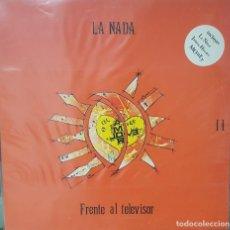 Discos de vinilo: LA NADA - FRENTE AL TELEVISOR - POP ROCK CANARIO - SIN USAR. Lote 194587418