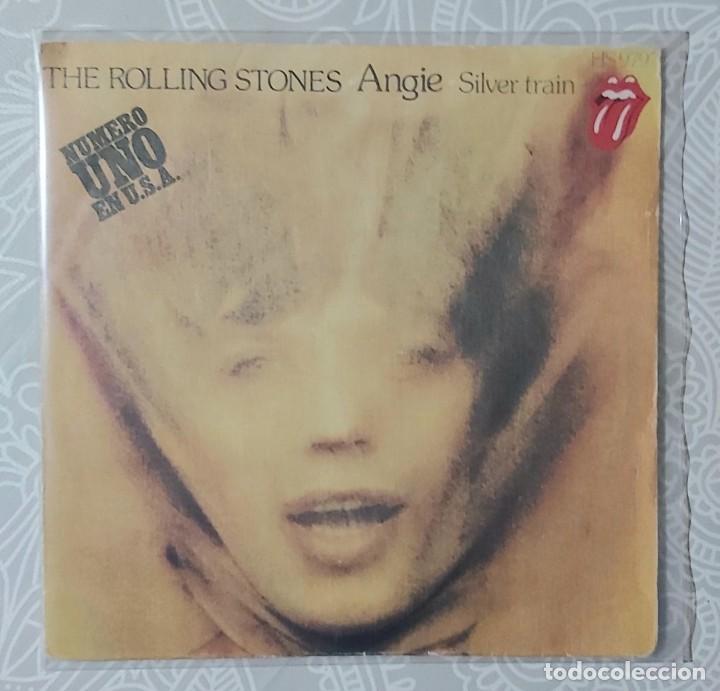 ROLLING STONES - ANGIE (Música - Discos de Vinilo - EPs - Pop - Rock Extranjero de los 70)