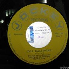 Discos de vinilo: SCOT HIGH - TOY BALLOONS / EDDY TWISTER - SPANISH TWISTER SINGLE PROMOCIONAL. Lote 194587588