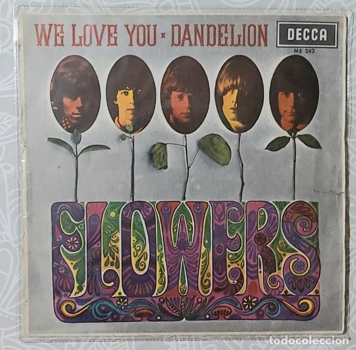 ROLLING STONES - FLOWERS (Música - Discos de Vinilo - EPs - Pop - Rock Extranjero de los 70)