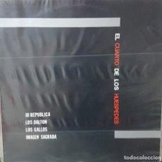Discos de vinilo: VARIOS GRUPOS ROCK CANARIOS - EL CUARTO DE LOS HUESPEDES - III REPUBLICA, LOS DALTON, ETC SIN USO. Lote 194587795