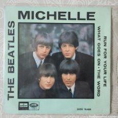 Discos de vinilo: THE BEATLES - MICHELLE. Lote 194587956