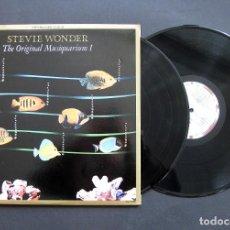 Discos de vinilo: STEVIE WONDER – THE ORIGINAL MUSIQUARIUM 1 - 2 LP. Lote 194589333