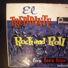 Discos de vinilo: LOS LLOPIS- EL TREPIDANTE ROCK AND ROLL. EP.. Lote 194591805