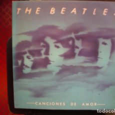 Discos de vinilo: THE BEATLES- CANCIONES DE AMOR. LP DOBLE.. Lote 194593578