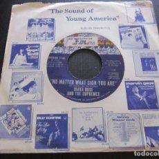 Discos de vinilo: DIANA ROSS & THE SUPREMES - NO MATTER WHAT SIGN YOU ARE - SN - EDICION USA DEL AÑO 1969.. Lote 194597552