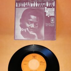 Discos de vinilo: RONNIE DYSON. IF YOU LET ME MAKE LOVE TO YOU THEN WHY CAN,T I TOUCH YOU. CBS 1970. Lote 194597683