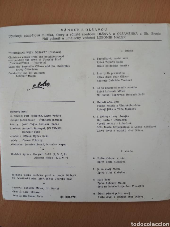 Discos de vinilo: Single Vanoce s Olsavou - Foto 2 - 194597778