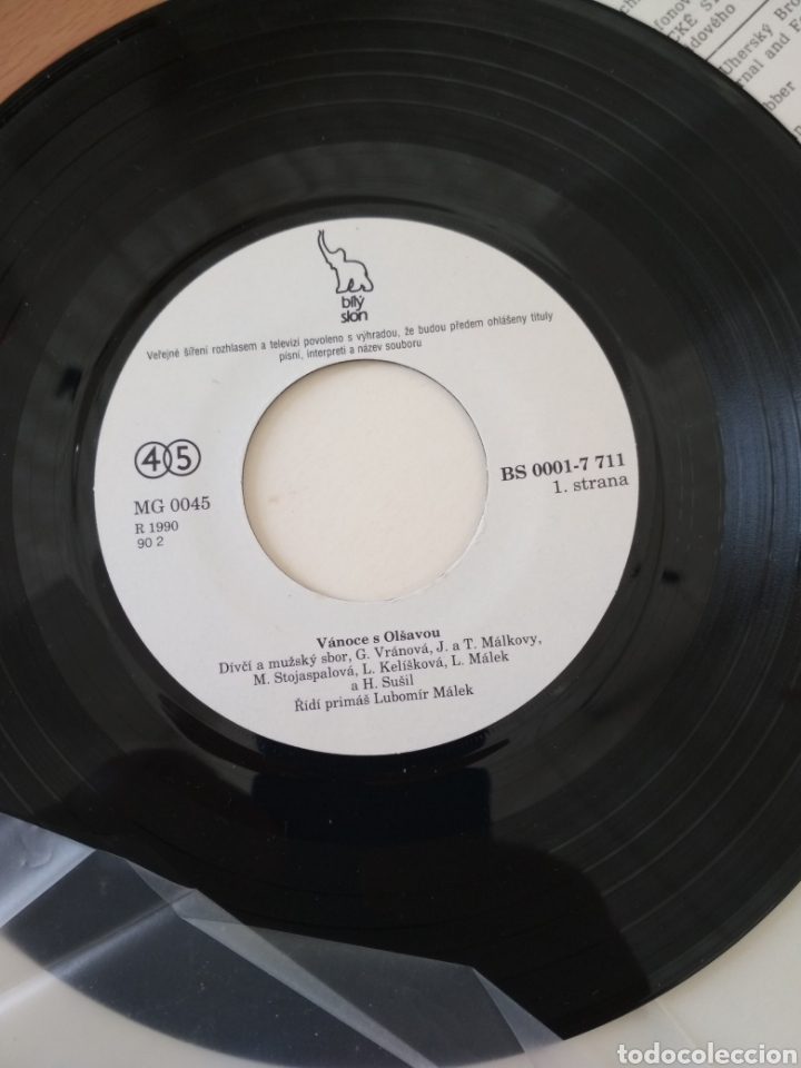Discos de vinilo: Single Vanoce s Olsavou - Foto 3 - 194597778