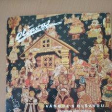 Discos de vinilo: SINGLE VANOCE S OLSAVOU. Lote 194597778